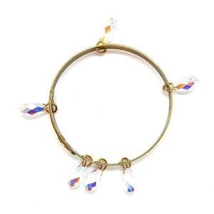 THUNDERBIRD OPAL TEARS BANGLE - NEW